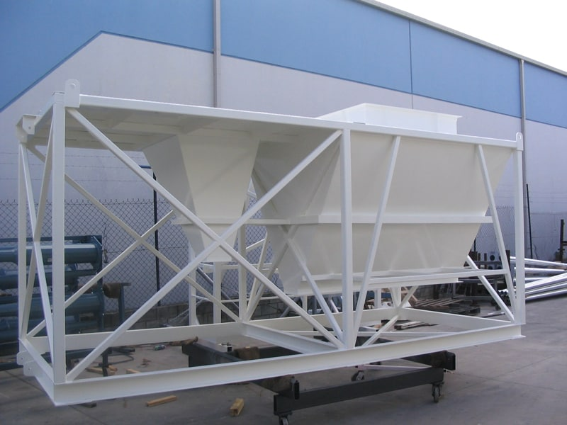 Powder Coated Hopper by Superior Coaters, Archerfield, Brisbane